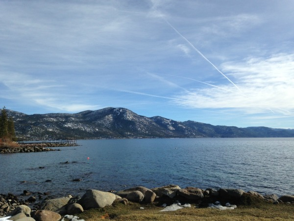 Burnt Cedar Beach at Lake Tahoe